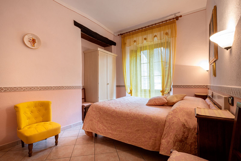 Le Camere della Locanda il Tufo Rosa Dove dormire a Pitigliano