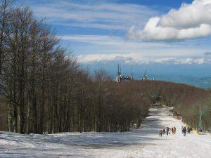 Monte Amiata nei dintorni del B&B Pitigliano - Locanda Il Tufo Rosa