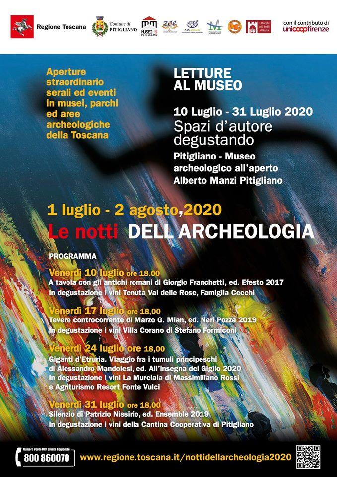 Notti Archeologia Pitigliano